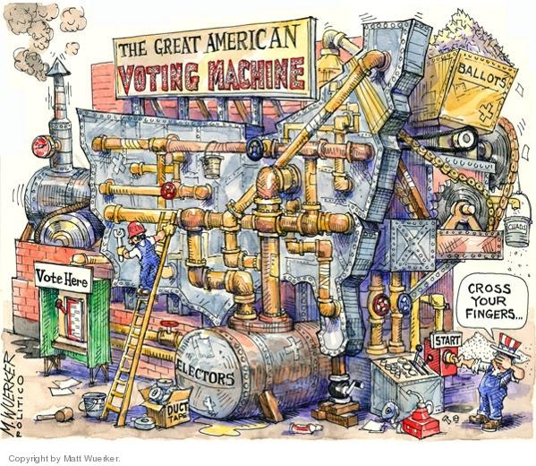 by Matt Wuerker, Politico (Oct. 31, 2008)