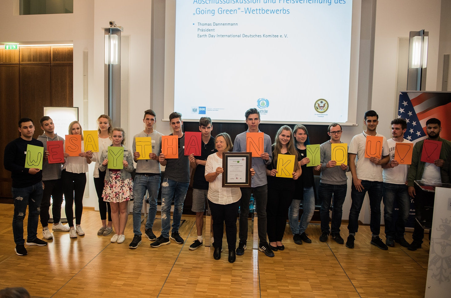 Going Green winners 2018 from Usingen